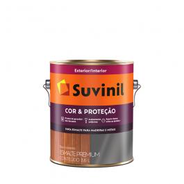 Imagem - Tinta Esmalte Branco Brilhante Base Solvente Premium 3,6l - Cor e Proteção Suvinil cód: 128358
