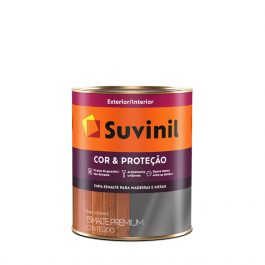 Imagem - Tinta Esmalte Branco Fosco Base Solvente Premium 900ml - Cor e Proteção Suvinil cód: 108648