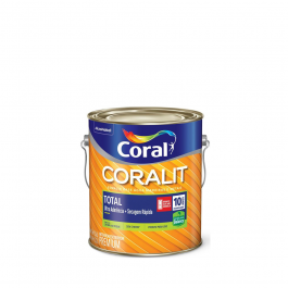 Imagem - Tinta Esmalte Branco Permanente Alto Brilho Zero Odor Secagem Rápida Premium 3,6l - Coralit Coral cód: 2241