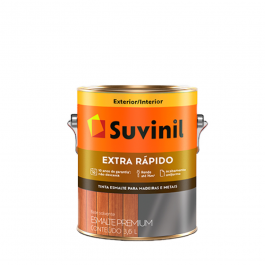 Imagem - Tinta Esmalte Colorado Brilhante Base Solvente Premium 3,6l - Extra Rápido Suvinil cód: 126558