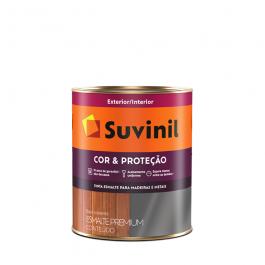 Imagem - Tinta Esmalte Gelo Acetinado Base Solvente Premium 900ml - Cor e Proteção Suvinil cód: 108654