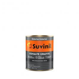 Imagem - Tinta Esmalte Grafite Claro Fosco Base Solvente Premium 900ml - Cor e Proteção Grafite Suvinil cód: 128362