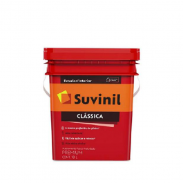 Imagem - Tinta Latex Fosco Premium 18l Branco Neve Balde - Clássica Suvinil cód: 134143
