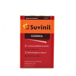 Imagem - Tinta Pva Branco Neve Fosco Aveludado Premium 18l - Suvinil cód: 108681
