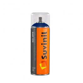 Imagem - Tinta Spray Multiuso Alumínio Brilhante 400ml/289g - Sua Arte Suvinil cód: 129665