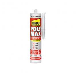 Imagem - Uhu Poly Max Cristal Express 100% Cola Transparente 300g - Adere cód: 127062