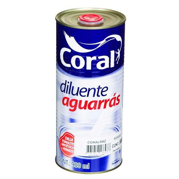 Aguarras Coral 0,9L