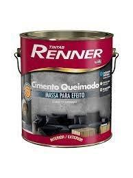 Cimento Queimado Renner Espelho D`Agua - 5kg