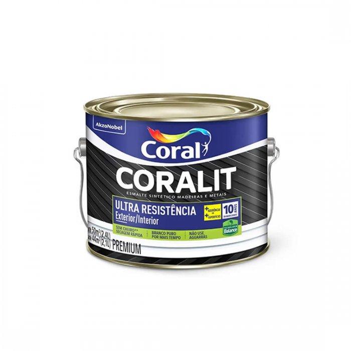 Esm Brilhante Coralit Ultra Resist Branco 2,4L