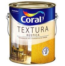 Textura Rustica Coral Branco 18L
