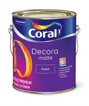 Imagem - Acril Fosco Coral Decora Branco 3,6 cód: 03279