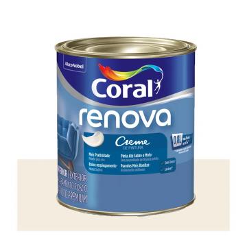 Imagem - Acril Fosco Coral Renova Bco 0,8L cód: 15216