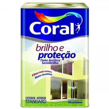 Imagem - Acril Semi Brilho Coral Bril e Prot Branco 18L cód: 03272
