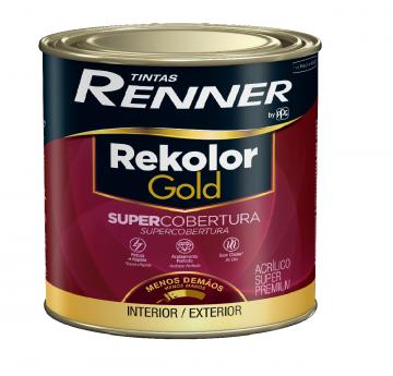Imagem - Acrilico Renner Gold Branco 0,8L - Fosco cód: 14854