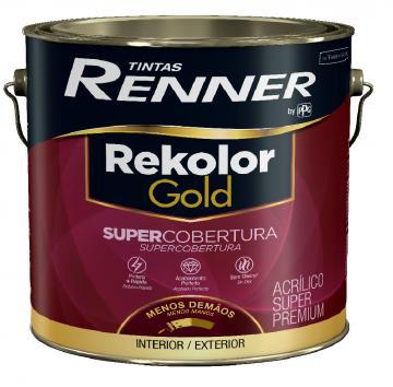 Imagem - Acrilico Renner Gold Branco 3,6L - Fosco cód: 14853
