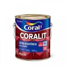 Imagem - Esm Brilhante Coralit Ultra Resist Preto 3,6L<BR> cód: 03496