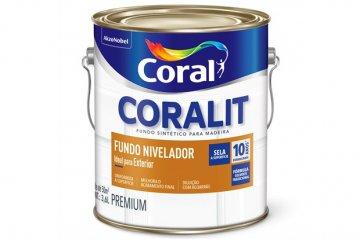 Imagem - Fundo Preparador Coralit Madeira 3,6L cód: 03812