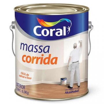 Imagem - Massa Corrida Coral 6kg cód: 03402