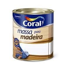 Imagem - Massa p/ Madeira Coral 0,9L cód: 03453