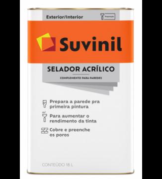 Imagem - Selador Acril Suvinil 3,6L cód: 01510