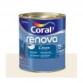 Acril Fosco Coral Renova Bco 0,8L