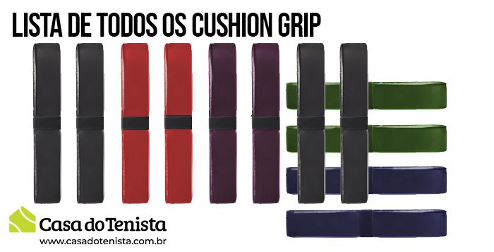 Imagem - Lista de todos os Cushion Grip do mundo e suas espessuras