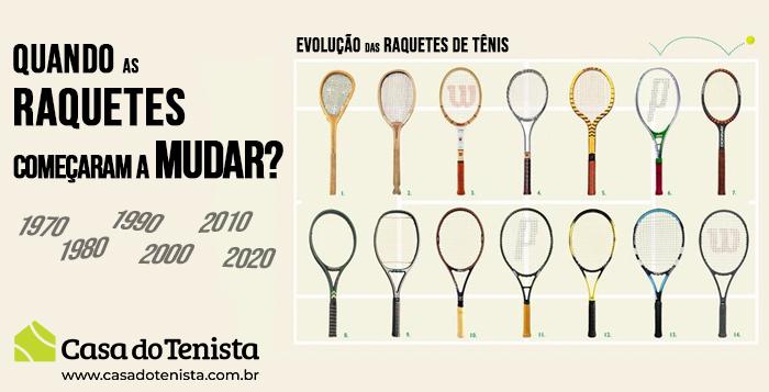 Imagem - Mudança das raquetes de Tênis: Quando começou ?
