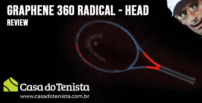 Imagem - Raquete Head Graphene 360 Radical MP: Review
