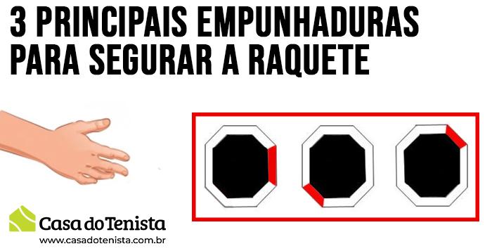 Imagem - 03 Principais empunhaduras para segurar a Raquete