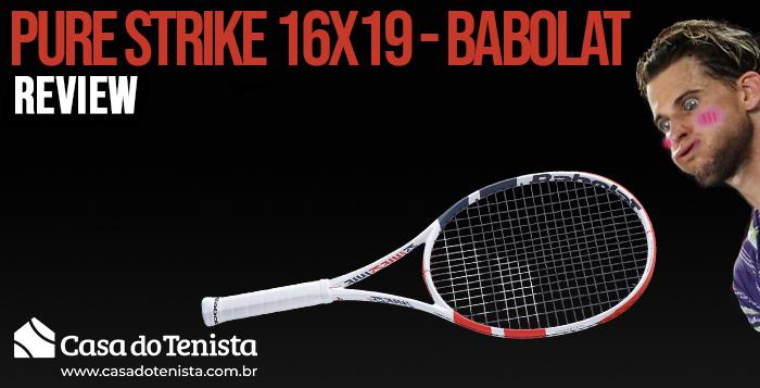 Imagem - Review: Raquete Babolat Pure Strike 16x19