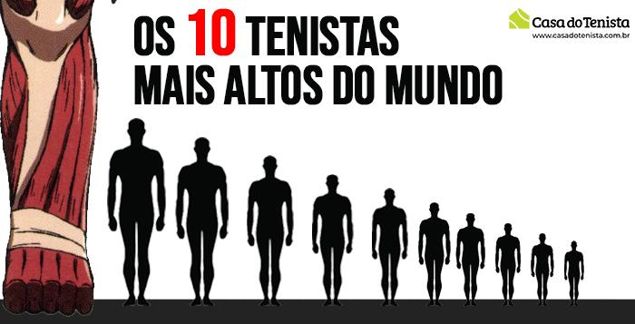 Imagem - Quem são os 10 tenistas mais altos do mundo?