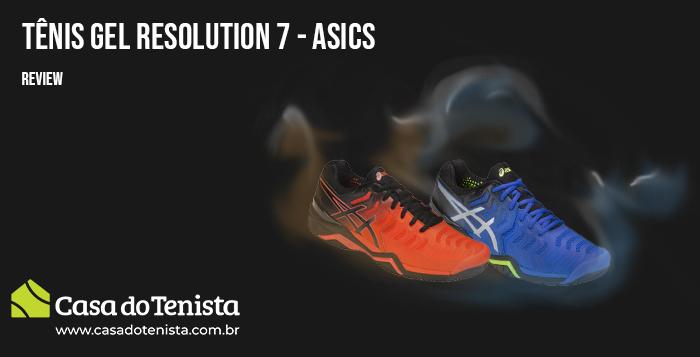 Imagem - Tênis Gel Resolution 7 Asics Review