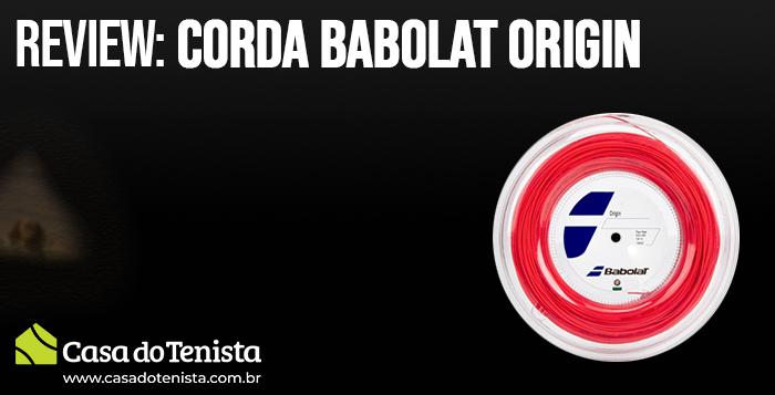 Imagem - Review e Play Test: Corda Babolat Origin