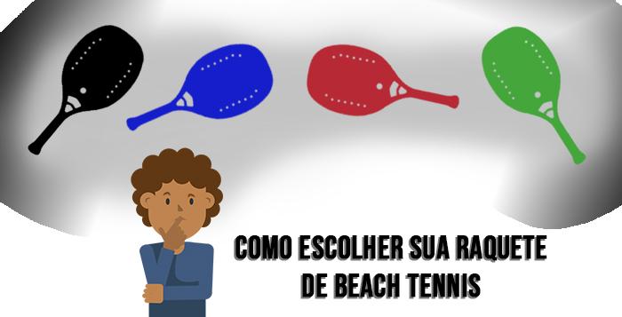Imagem - Como escolher sua raquete de Beach Tennis
