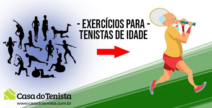Imagem - Quais os melhores exercicíos para tenistas com mais idade ?