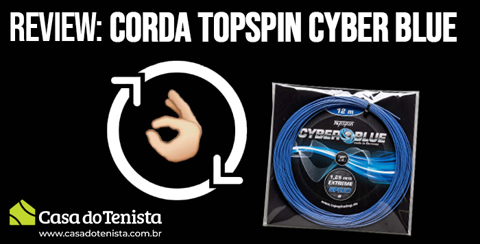 Imagem - Review: Corda Topspin Cyber Blue