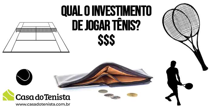 Imagem - Quanto custa e qual o investimento para jogar Tênis ?