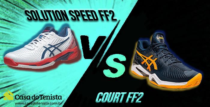 Imagem - Asics Court FF2 vs Asics Solution Speed FF – Qual é o melhor?