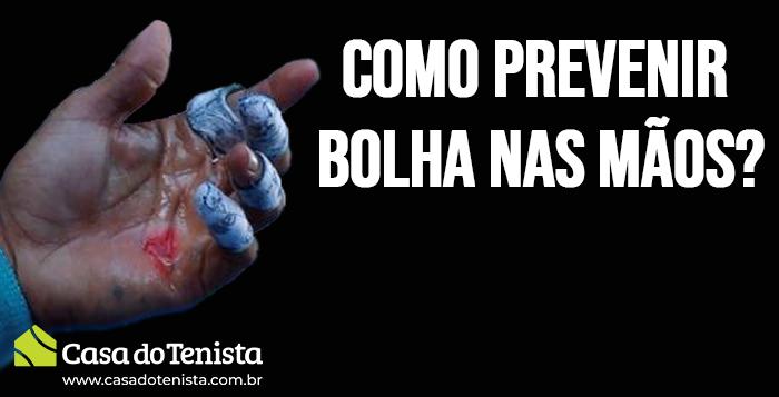 Imagem - Como prevenir bolhas nas mãos ?