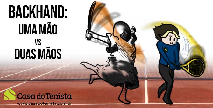 Imagem - Backhand no Tênis - Backhand de uma mão VS Backhand de duas mãos