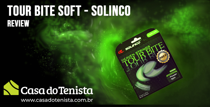 Imagem - Corda Solinco Tour Bite Soft Review
