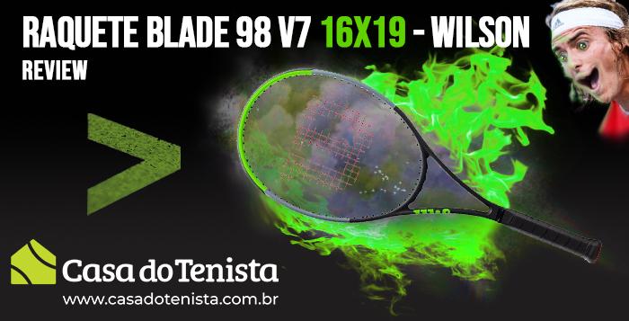 Imagem - Review - Wilson Blade 98 16x19 V7 2019
