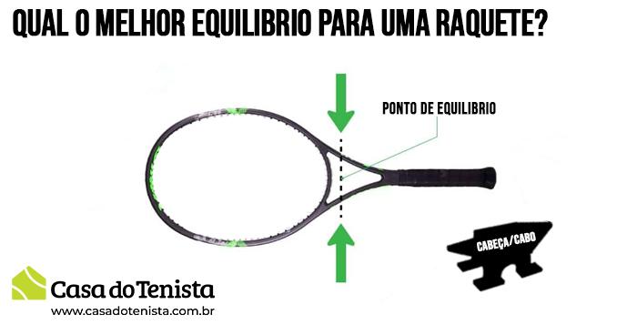 Imagem - Qual o melhor equilíbrio para uma raquete de Tênis ?