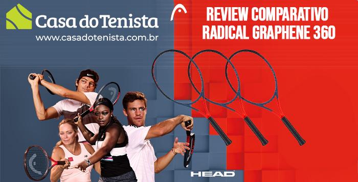 Imagem - Sobre a nova linha de raquetes Head Radical Graphene 360