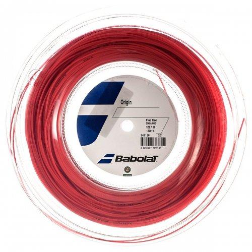 Corda Origin 17 1.25mm Vermelha Rolo com 200 metros - Babolat