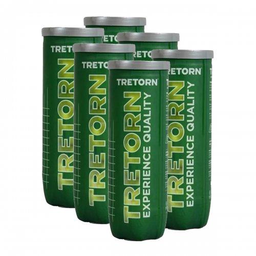 Bola de Tenis Serie+ Tournament Pack c/ 6 Tubos - Tretorn