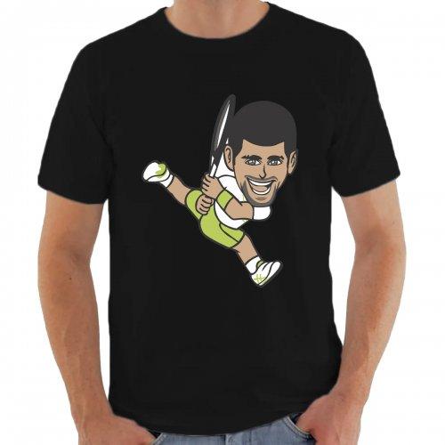 Camiseta Djokovic Preta - Casa Do Tenista