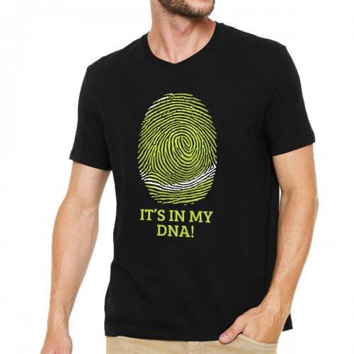 Camiseta DNA Preta - Casa do Tenista