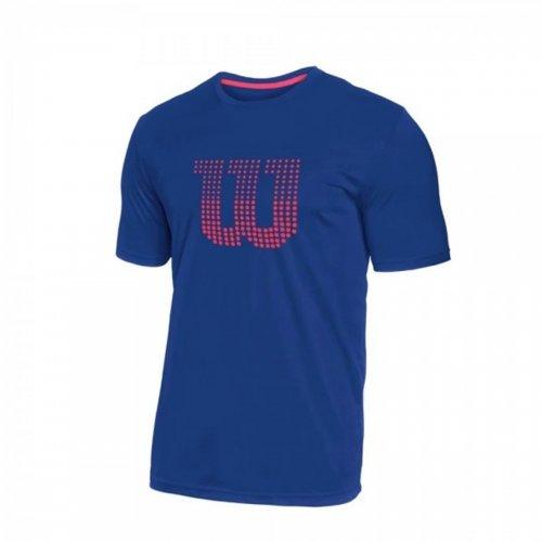Camiseta Infantil Clay Marinho - Wilson