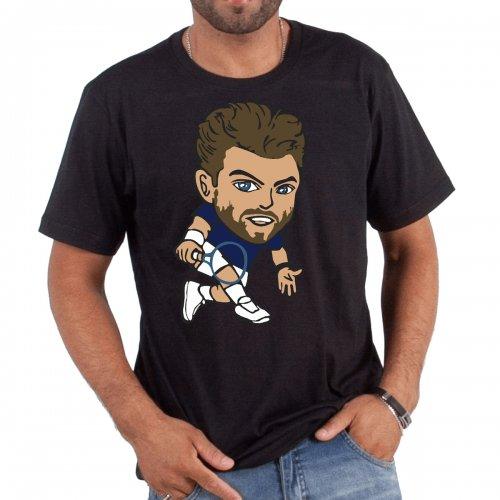 Camiseta Wawrinka Preta - Casa Do Tenista